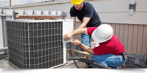 refrigeration and air conditioning mechanics install